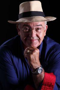 Mariano González Balseiro con sombrero