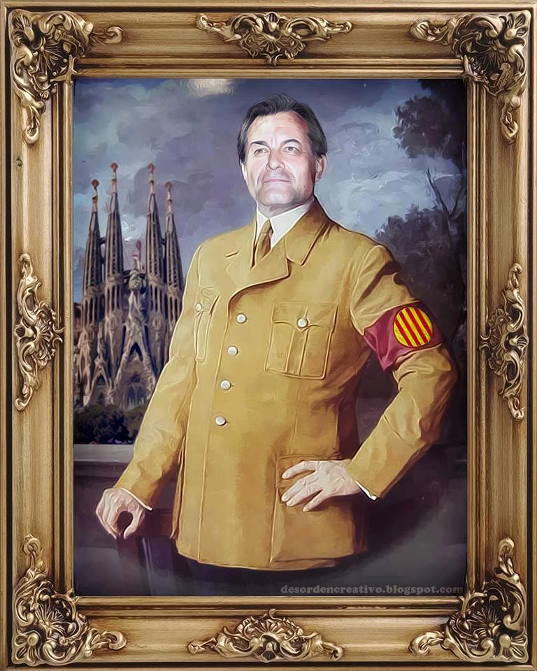 El mesías Artur Mas según la web desordencreativo