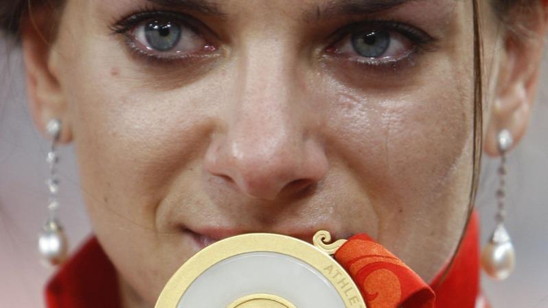 Yelena Isinbayeva y el oro soñado