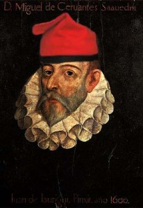 Cervantes con barretina