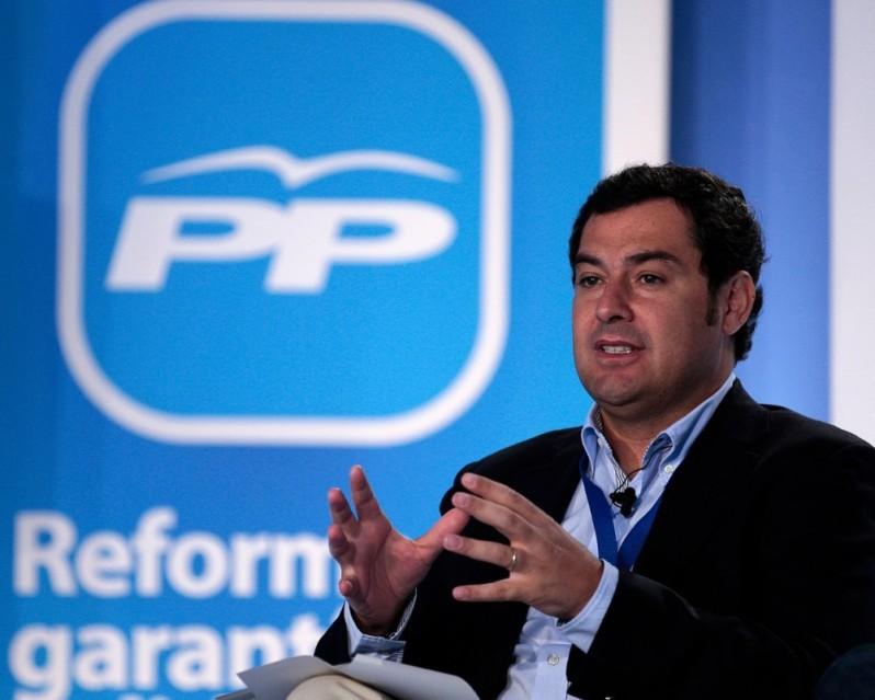 Juan Manuel Moreno. candidato de Rajoy y Arenas. será el líder del PP andaluz