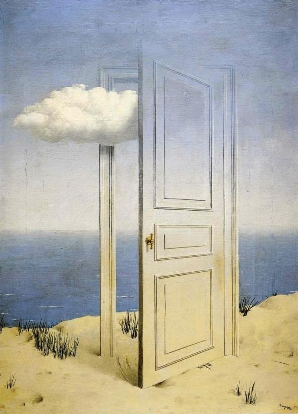 La pintura de los días por Demetrio Reigada: La puerta abierta a la imaginación de Magritte