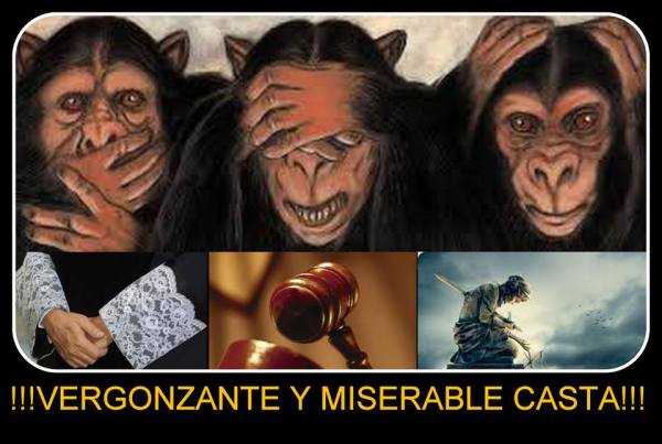 Vergonzante y miserable casta