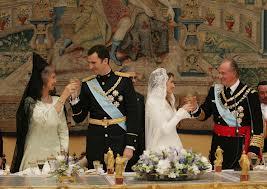 La boda de los Príncipes de Asturias