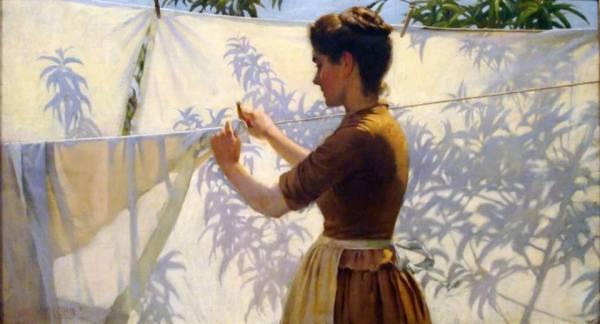La pintura de los días por Demetrio Reigada:  Hoy Charles Courtney Curran el gran impresionista  de impresionantes retratos