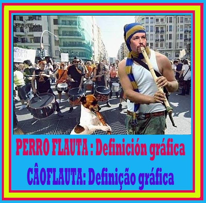 Definición gráfica de Perro Flauta