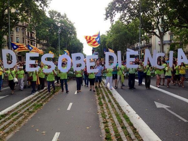 desobediencia independentista