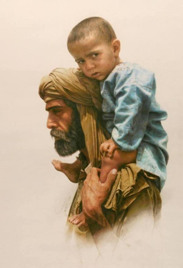 La pintura de los días por Demetrio Reigada: Hoy Iman Maleki, el considerado por muchos como mejor pintor de arte realista del mundo