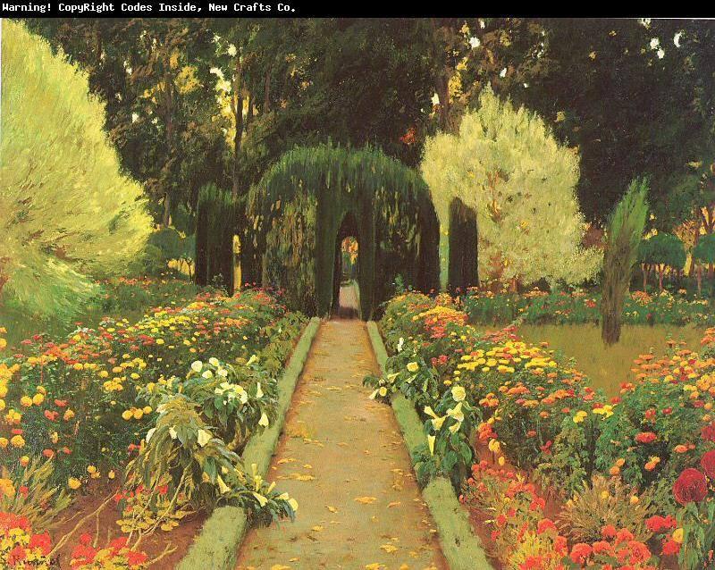 La pintura de los d as por demetrio reigada hoy santiago for Los jardines de aranjuez
