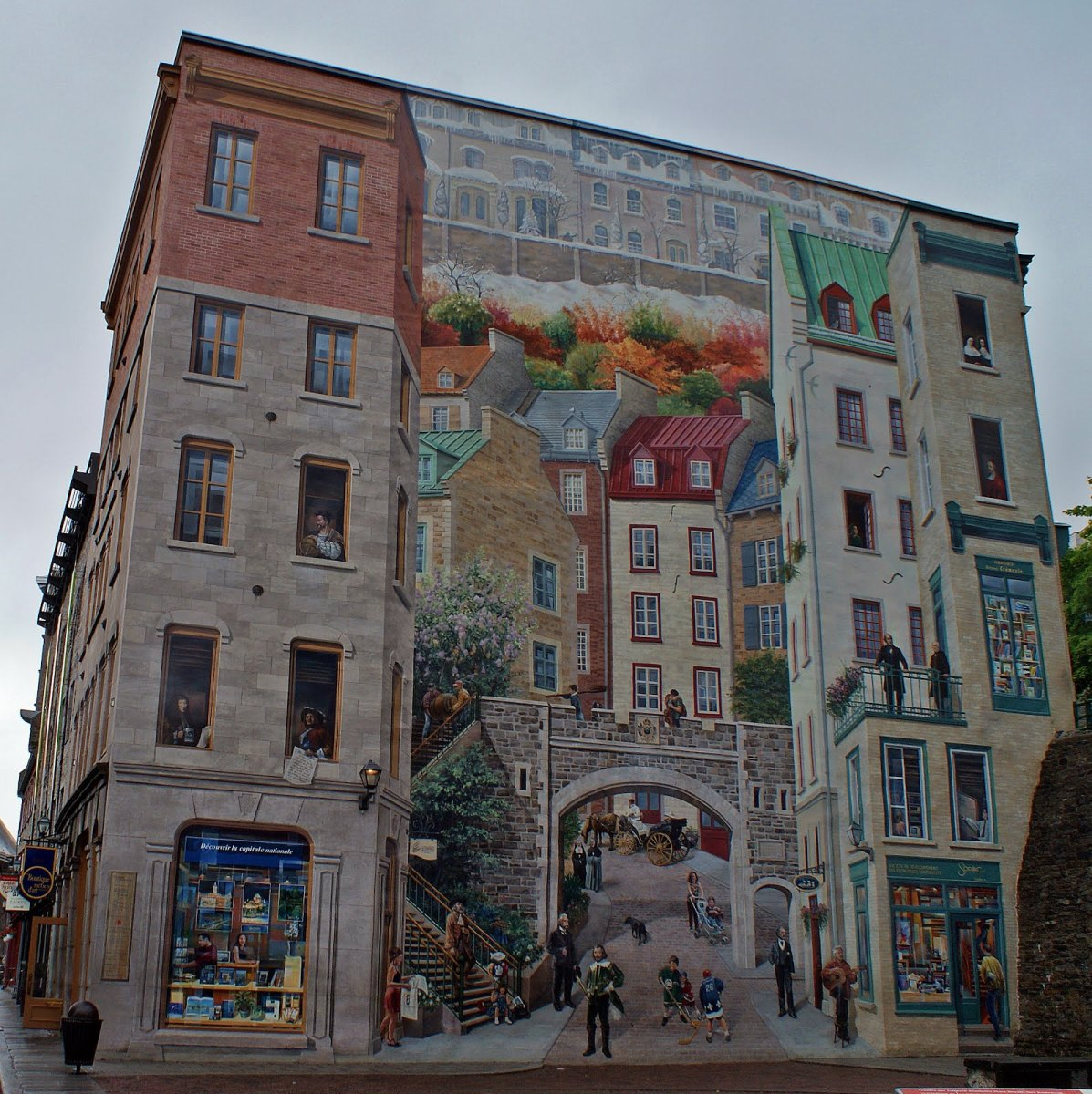 la pintura de los días por Demetrio Reigada: Hoy cambiamos la realidad gracias al arte del Trampantojo