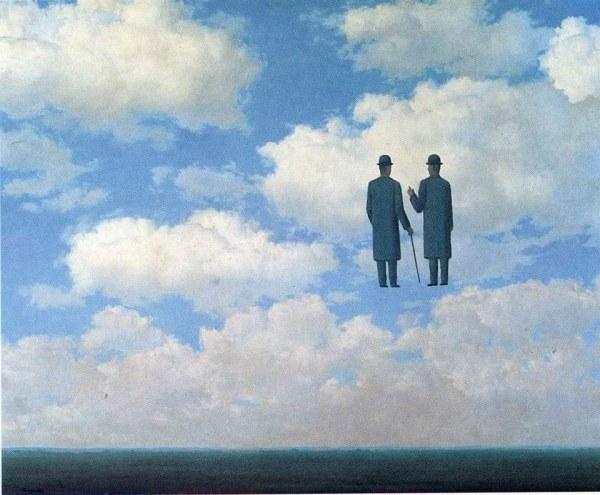 La pintura de los días por Demetrio Reigada: Hoy, de paseo por las nubes, con René Magritte