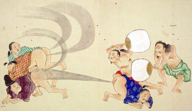 antiguos pergaminos japoneses 1