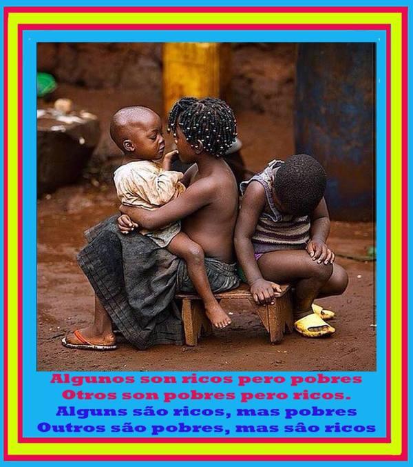 Algunos son ricos pero pobres