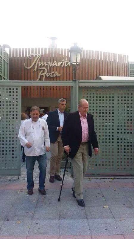 Juan Carlos el 12 de Octubre