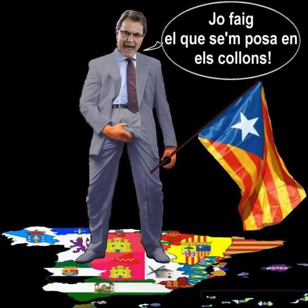 Arturo Mas el sectario