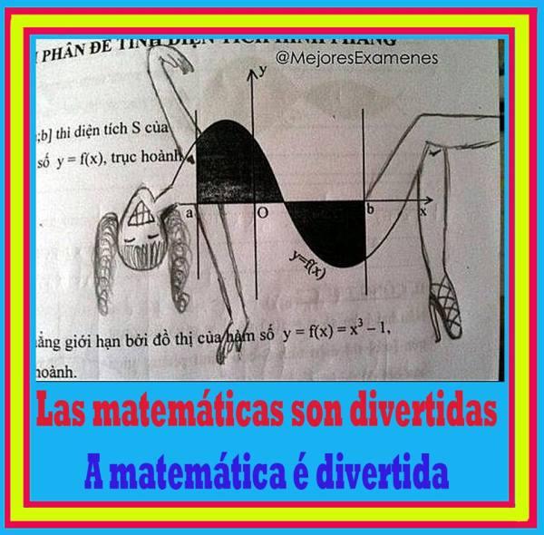 Las matemáticas son divertidas