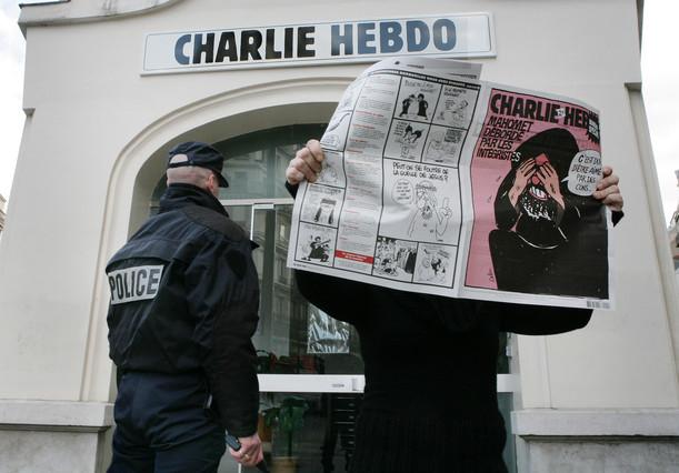 lector de Charlie Hebdo