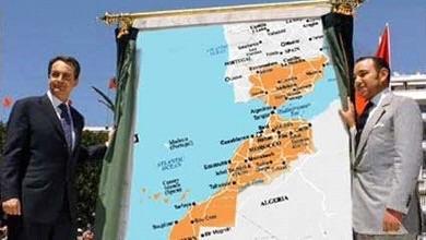 Zapatero el desleal posa junto al Rey de Marruecos