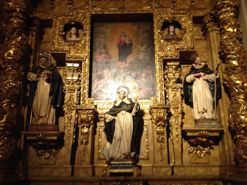 Detalle Iglesia de las Trinitarias. Foto La Paseata