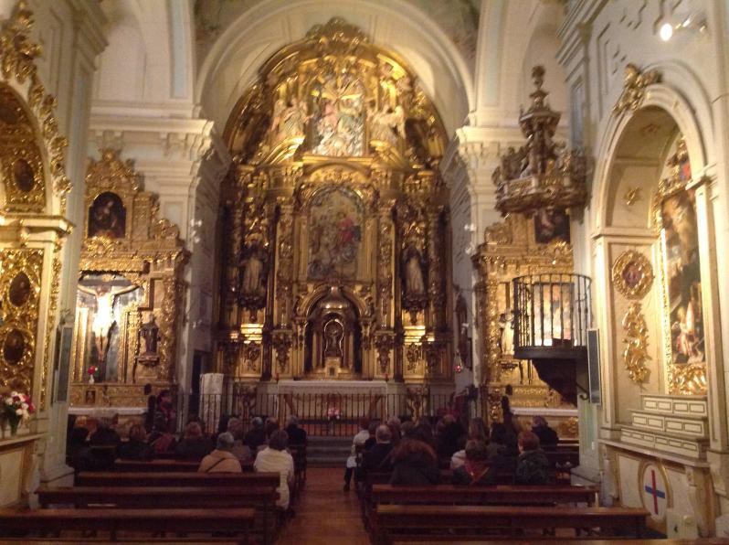 Iglesia de las Trinitarias. Foto La Paseata