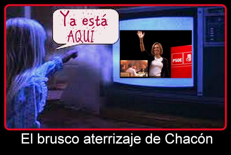 El brusco aterrizaje de Chacón