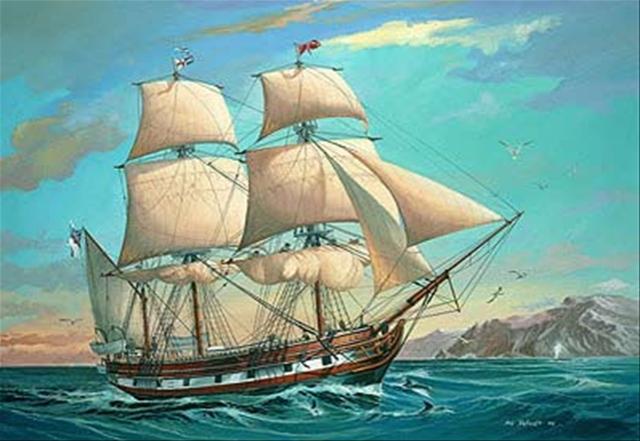 El navío Beagle