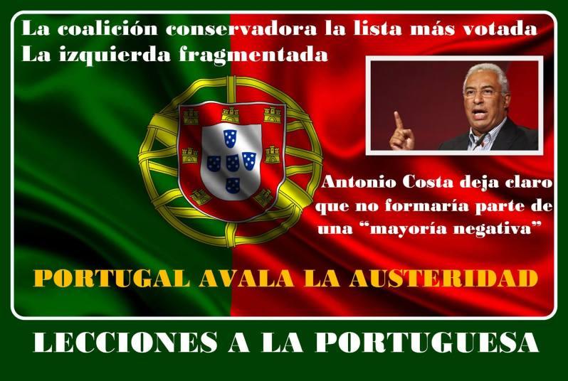 Lecciones a la portuguesa. Menos mal que nos quda portugal
