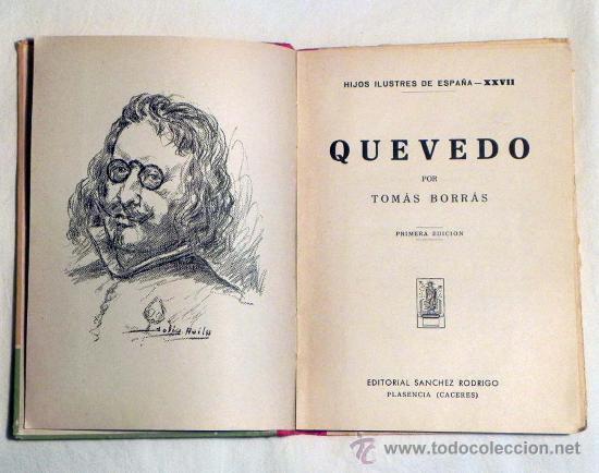 libro de Quevedo