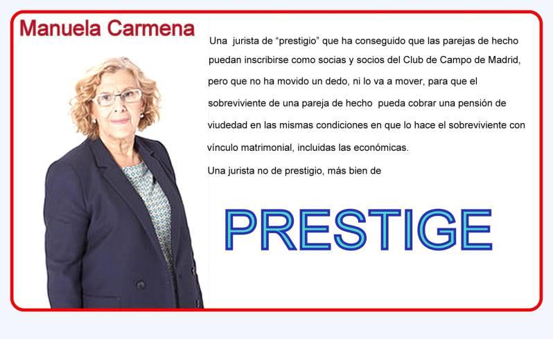 Manuela Carmena una jurista de PRESTIGE