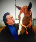Antonio Monzón con el caballo 1
