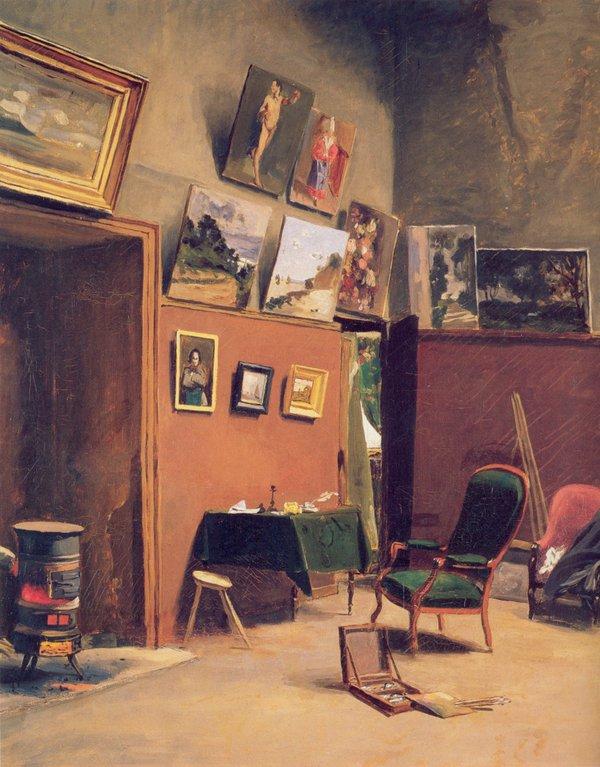 Frédéric Bazille Atelier de la rue Furstenberg 1865