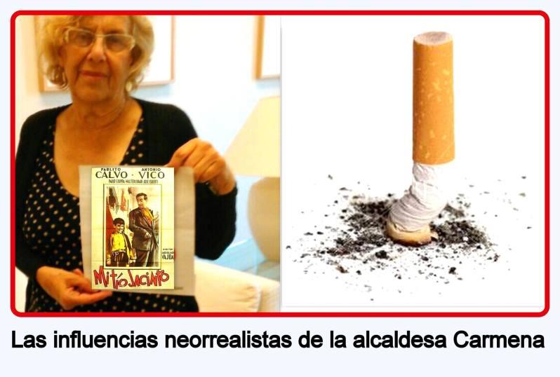 Las influencias neorrealistas de la alcaldesa Carmena
