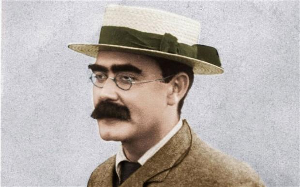 RUDYARD KIPLING  escritor y poeta británico. Autor de relatos, cuentos infantiles, novelas y poesía. (30 de diciembre de 1865, Bombay, India -18 de enero de 1936, Londres, Reino Unido Premio Nobel de Literatura.