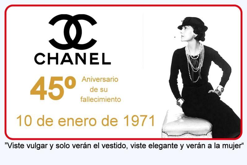Homenaje a Chanel