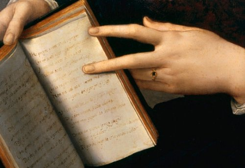 La belleza de los ibrs y de las manos