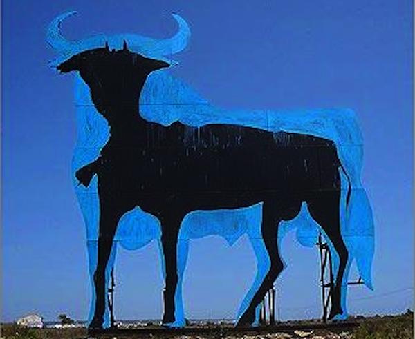 Toro de Osborme famélico