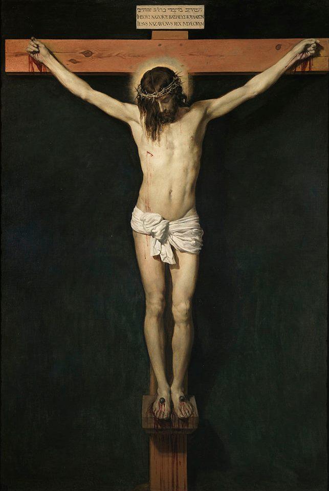 Cristo Crucificado, por Diego Velázquez