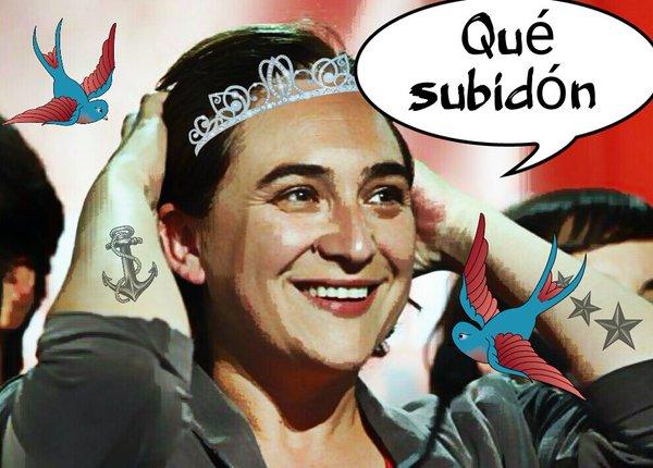 Lady A, la princesa del poble, es aclamada por los manteros en el centro de Barcelona