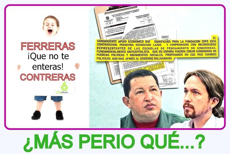Los afines al gobierno bolivariano