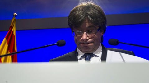 Cinco altas autoridades de Europa rechazaron verse con Puigdemont