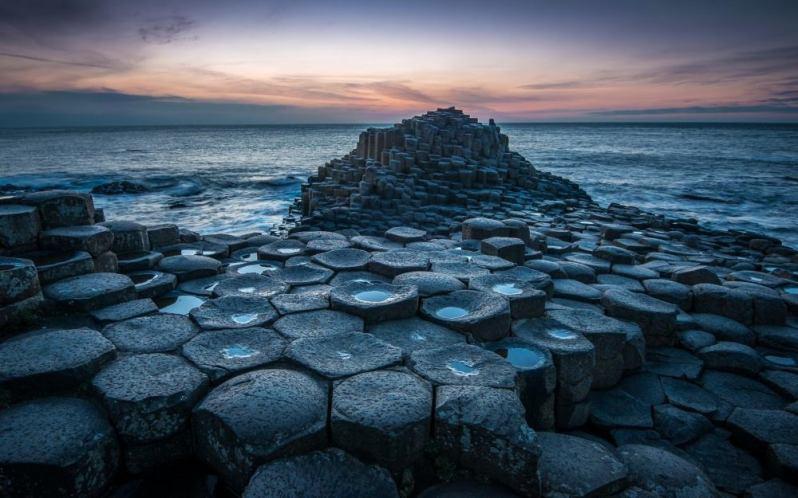 Fotografia La Calzada del Gigante (IRLANDA)