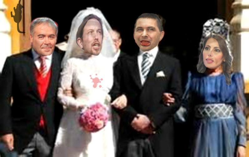 ¿Habrá boda? Ilustración de José Ignacio Díaz Gómez. http://joseignaciodiazgomez.blogspot.com.es/