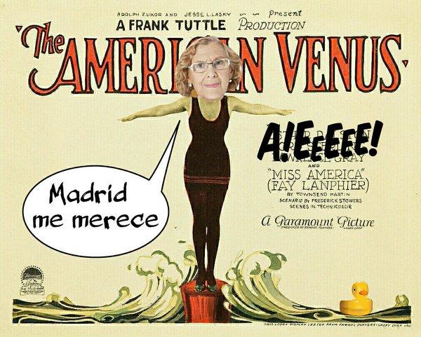 La alcaldesa de Madrid no asistirá a final de la Copa del Rey pq su amiguita Colau no va. Desaire al alcalde Sevilla