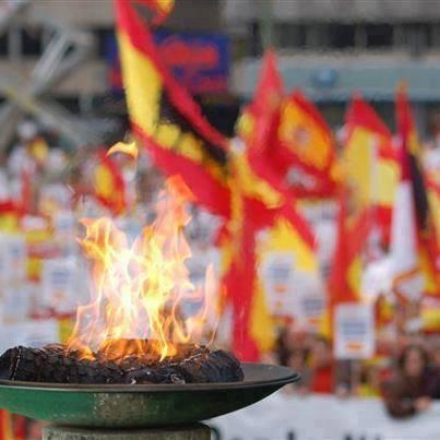 La bandera de España y el respeto a los muertos por la Patria