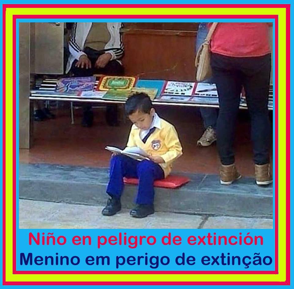 Niño en peligro de extinción