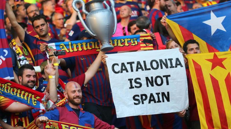 Separatistas catalanes