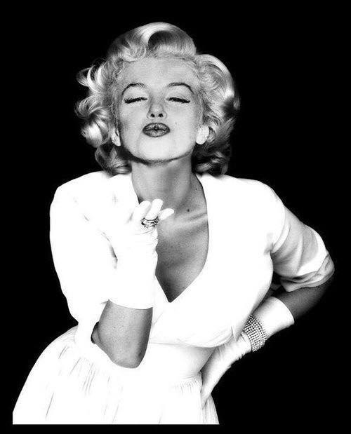 beso de Marilyn Monroe