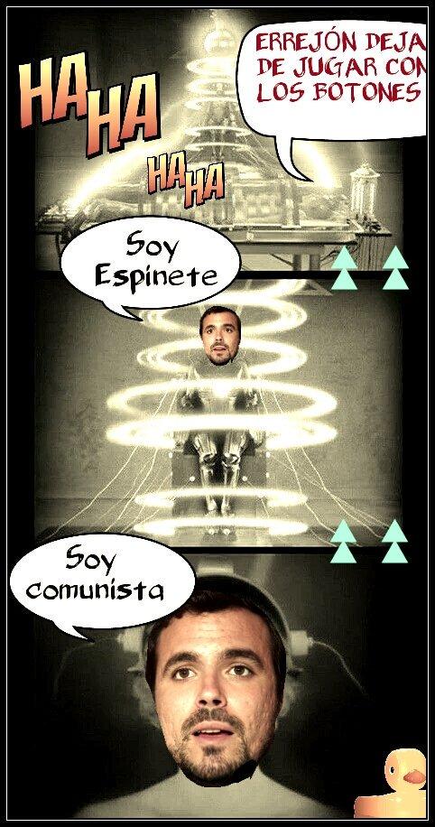 Está costando hacer evolucionar a Garzón de comunista a socialdemócrata