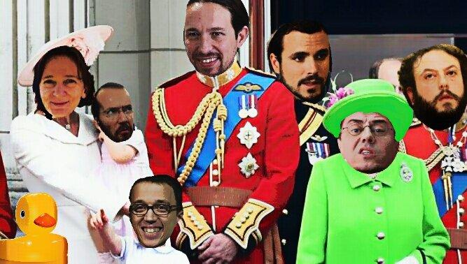 Los nuevos Royals, ya mentalmente preparados para gobernar. Como el Pp vuelva a gobernar, la liarán