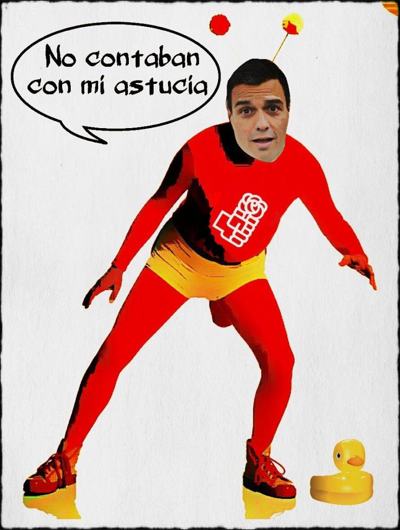 Se masca la tragedia Sánchez